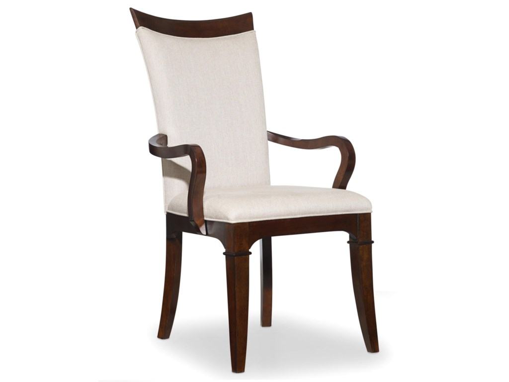 Set Includes Upholstered Dining Arm Chairs