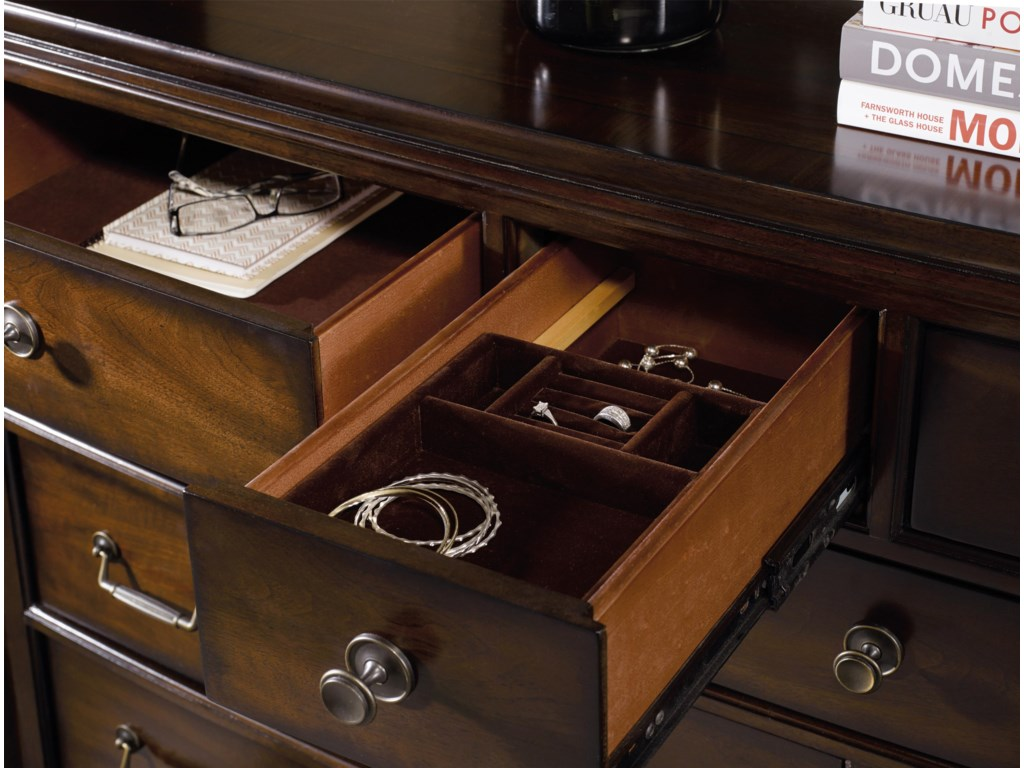 Jewelry Tray Insert in Top Drawer