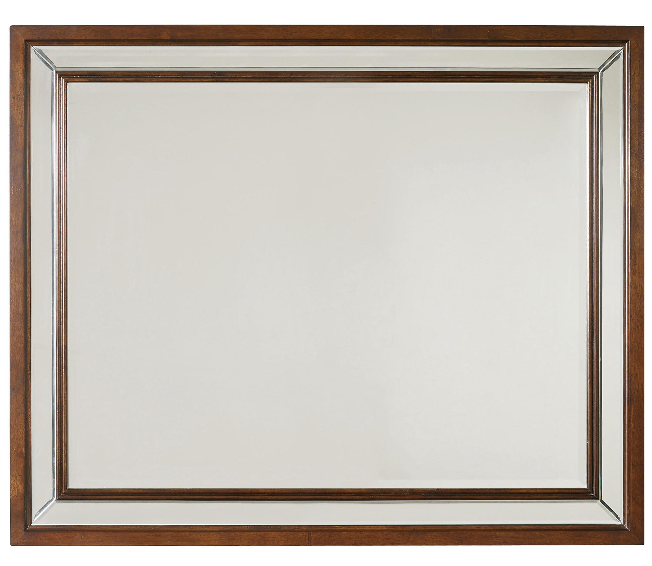 Landscape Mirror with Double Frame