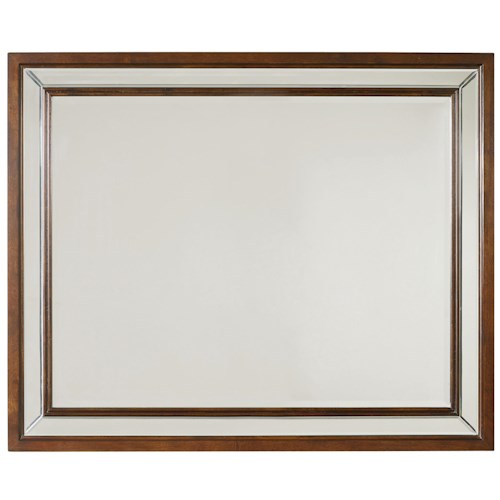 Hooker Furniture Palisade Landscape Mirror with Double Frame