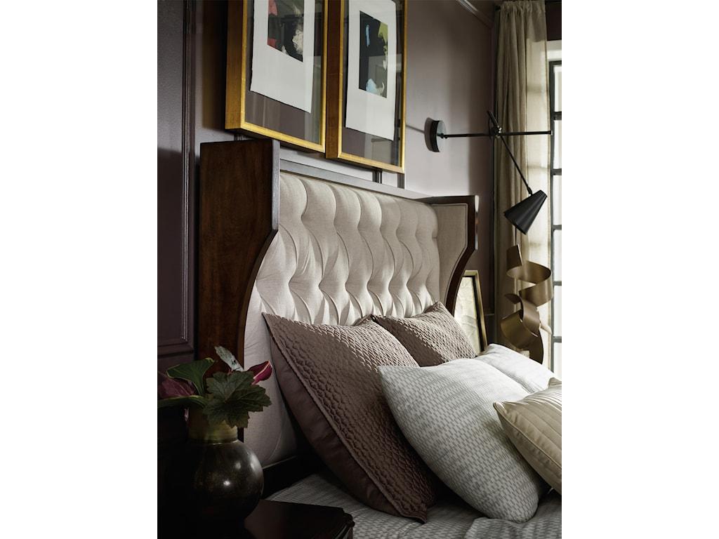 Hooker Furniture PalisadeQueen Upholstered Shelter Bed