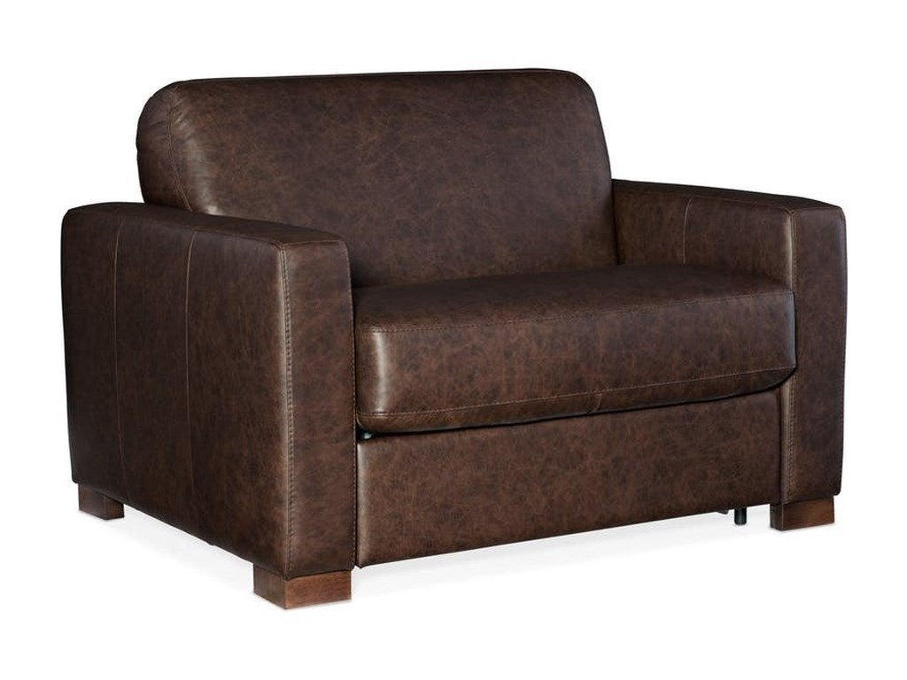 Hooker Furniture PeraltaArm Chair and a Half with Sleeper