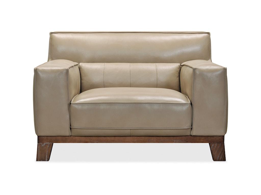 Hooker Furniture ProsperLeather Stationary Chair