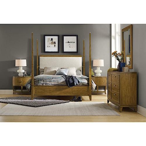 Hooker Furniture Retropolitan King Bedroom Group