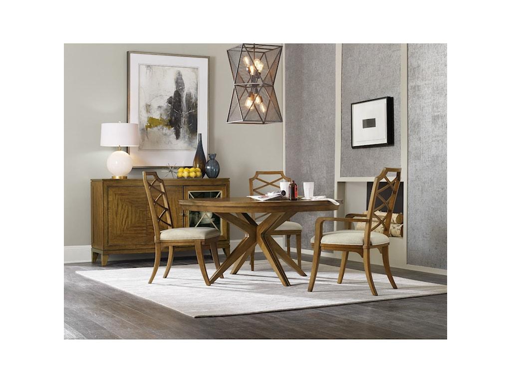 Hooker Furniture RetropolitanCasual Dining Room Group