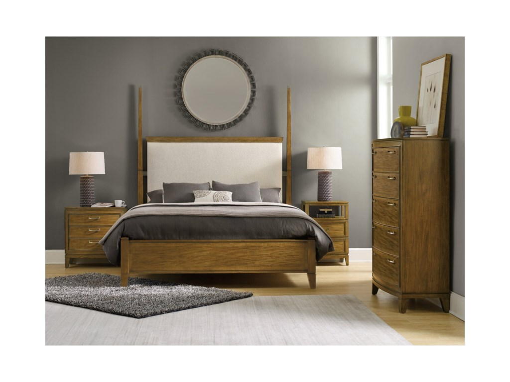 Hooker Furniture RetropolitanKing Bedroom Group