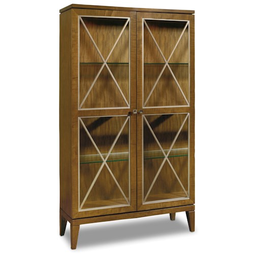 Hooker Furniture Retropolitan Display Cabinet with LED Lighting