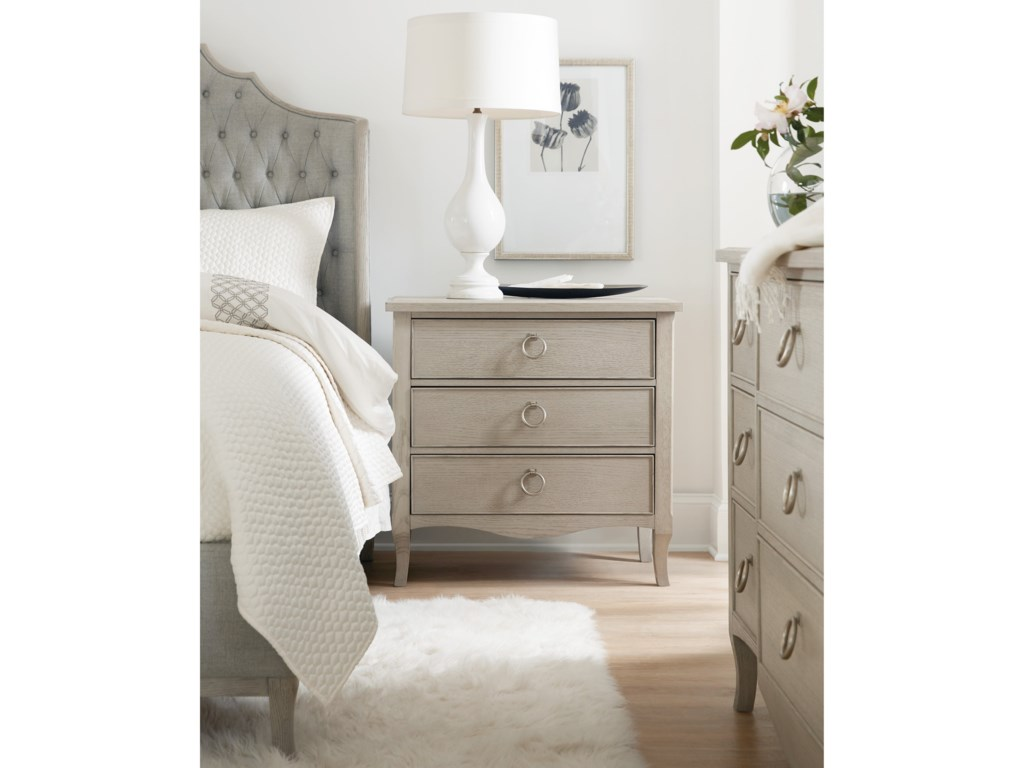 Hooker Furniture Reverie3-Drawer Nightstand