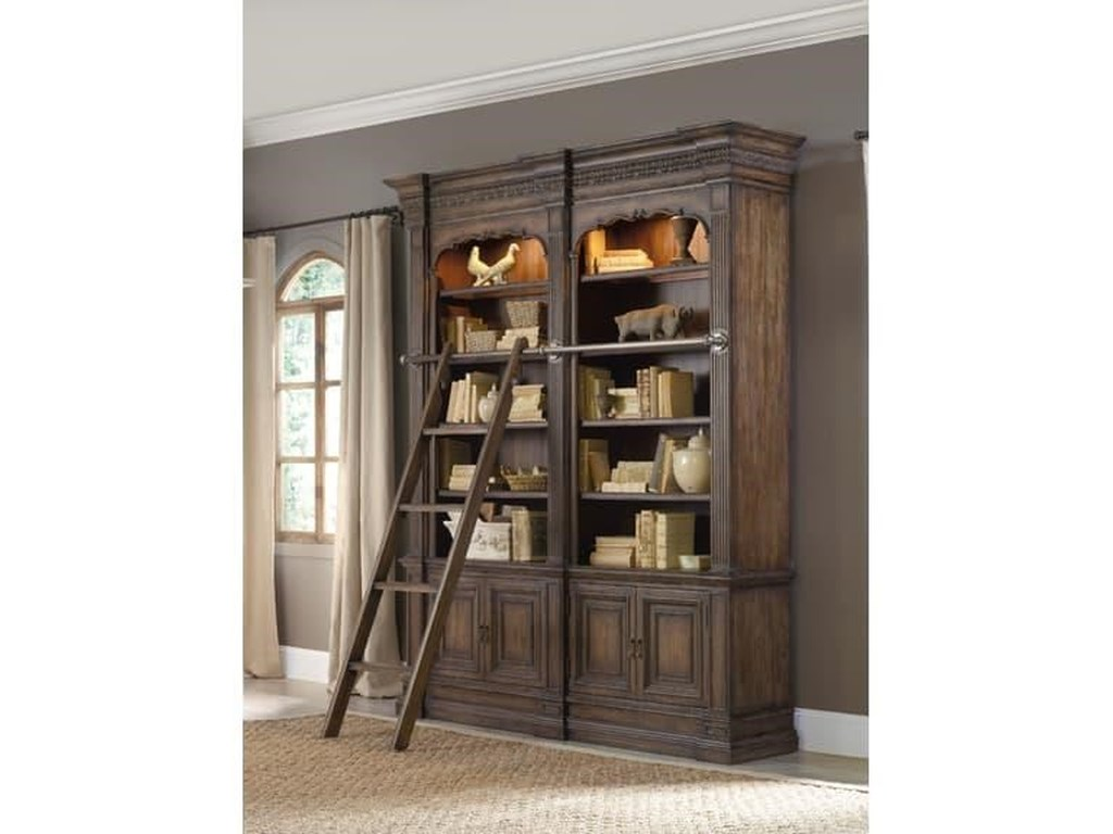 Regency HartsdaleHartsdale 4-Piece Library Wall