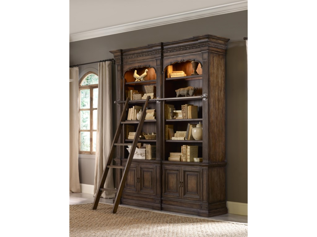 furniture bookcases bookcase hooker telluride