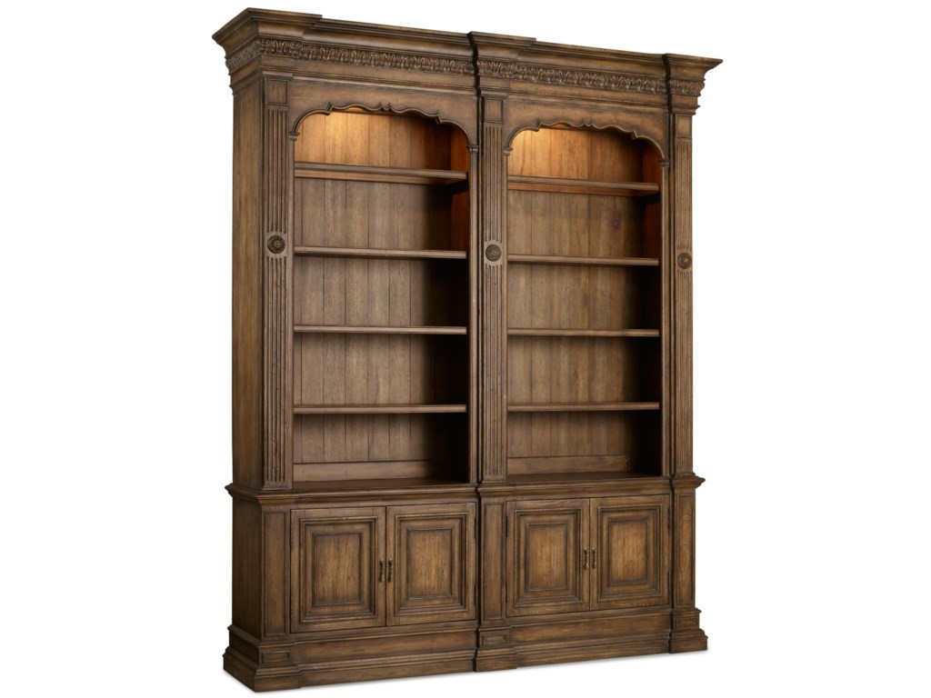 Hooker Furniture RhapsodyDouble Bookcase