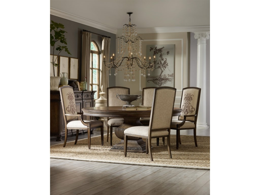 Shown with Insignia Arm Chair, Round Dining Table and 72-Inch Credenza