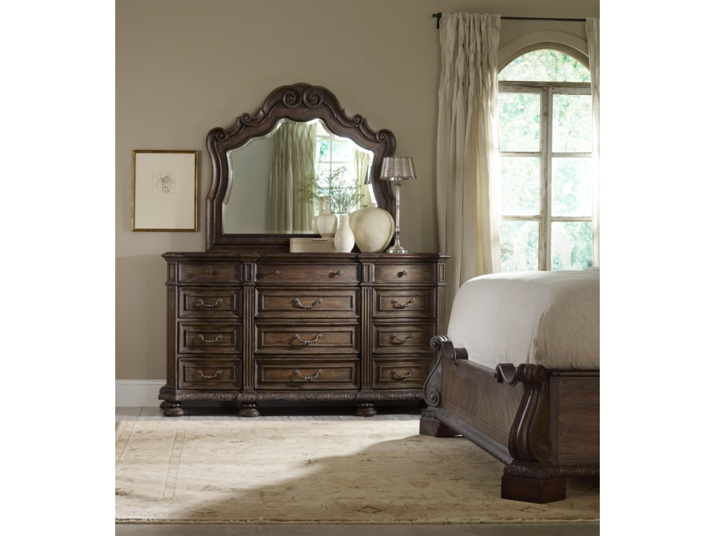 Shown with Dresser and Panel Bed
