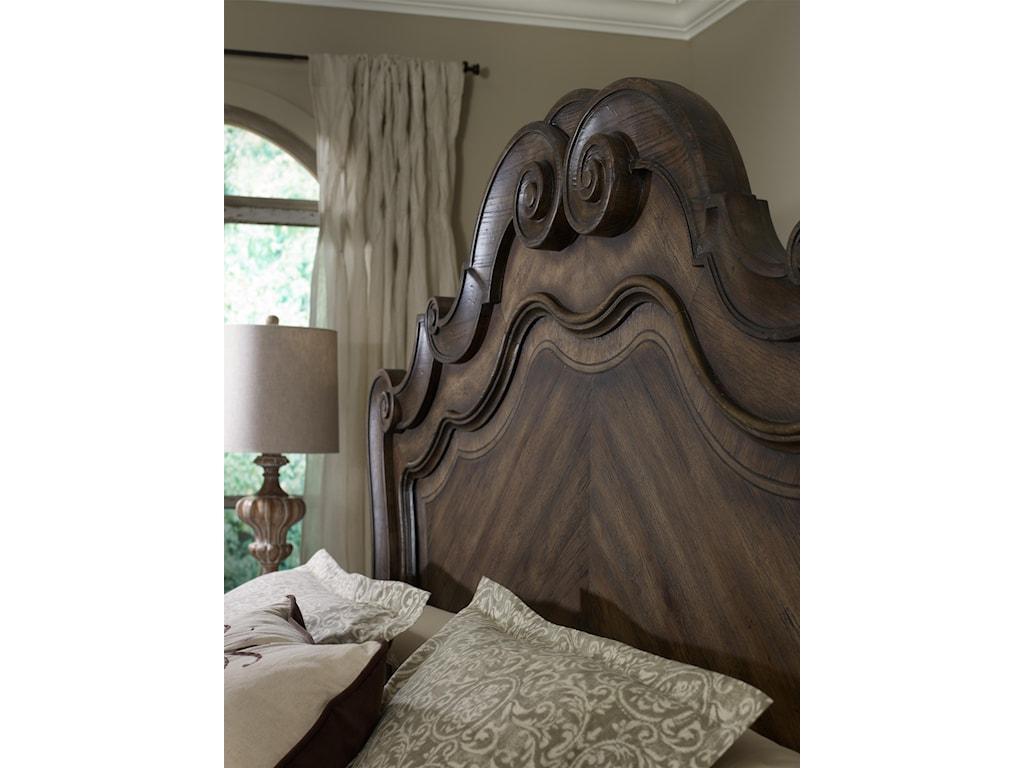 Hooker Furniture RhapsodyCali King Panel Bed