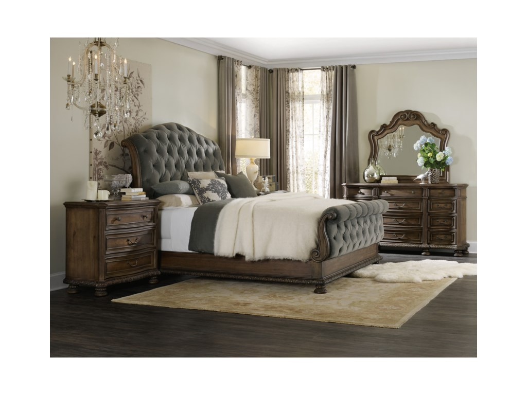 Hooker Furniture RhapsodyKing Tufted Bed