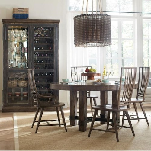 Hooker Furniture American Life - Roslyn County Formal Dining Room ...