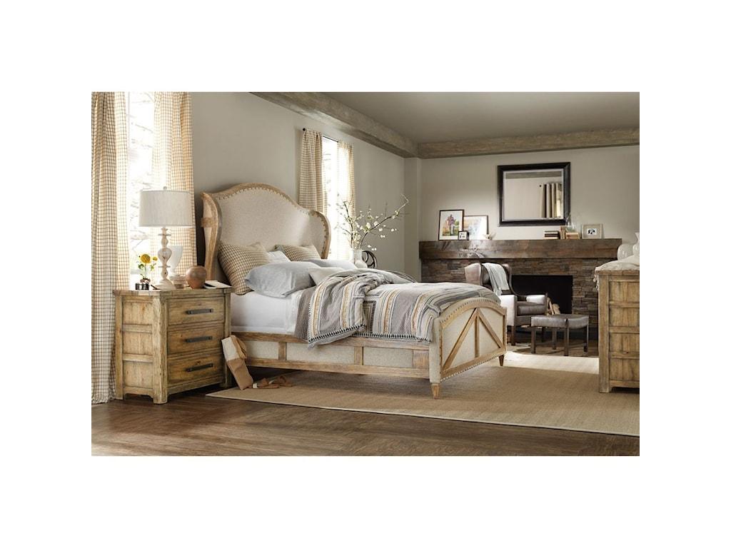 Hooker Furniture American Life - Roslyn CountyKing Bedroom Group