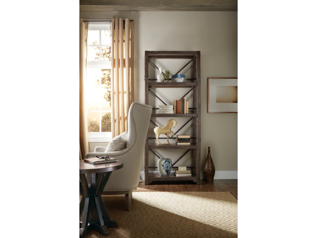 Hooker Furniture American Life - Roslyn County4 Shelf Etagere