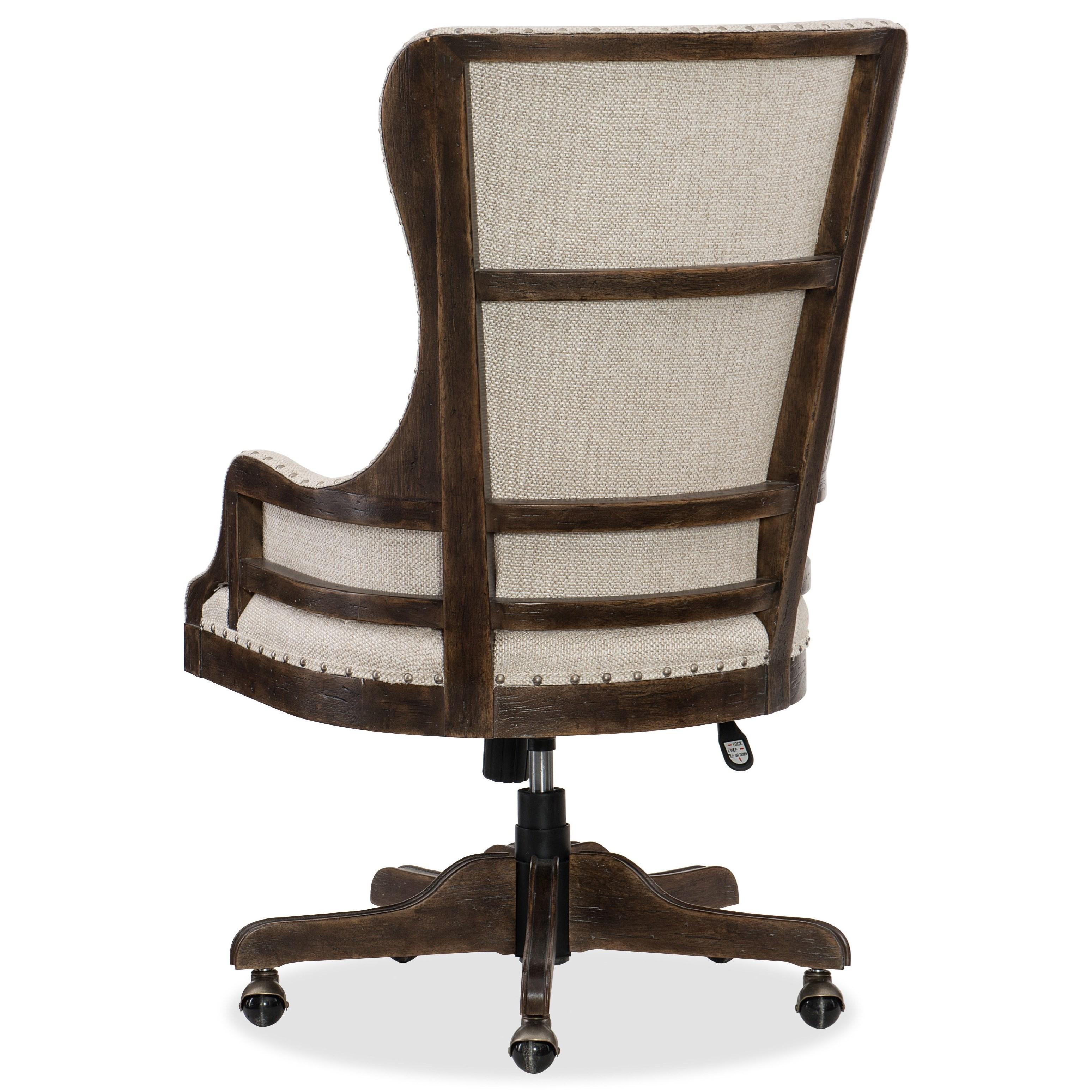 Hooker Furniture American Life   Roslyn CountyDeconstructed Tilt Swivel  Chair ...