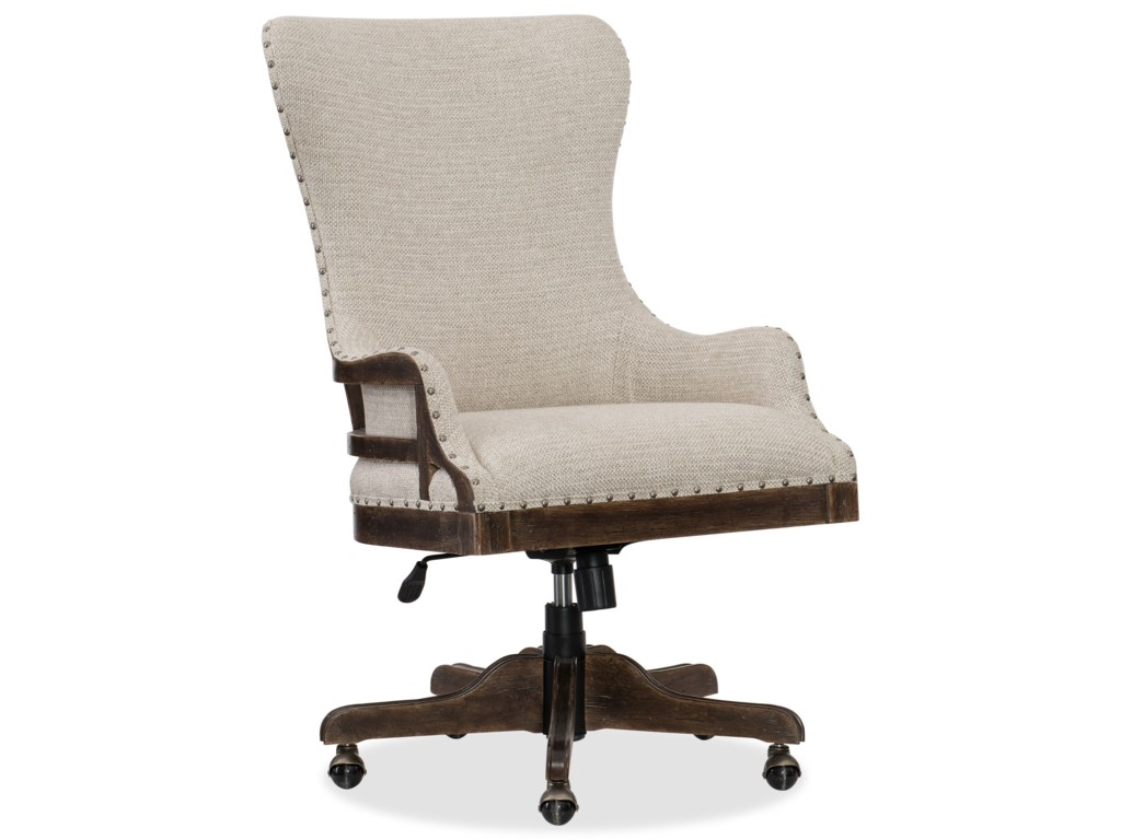 Hooker Furniture American Life - Roslyn CountyDeconstructed Tilt Swivel Chair