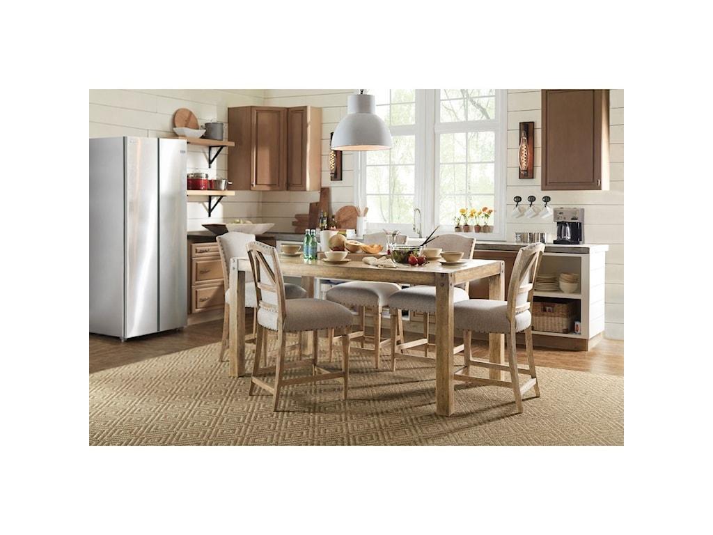 Hooker Furniture American Life - Roslyn County Kitchen ...