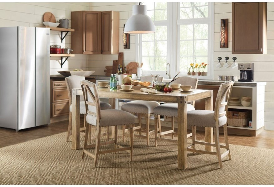 Hooker Furniture American Life - Roslyn County Kitchen ...