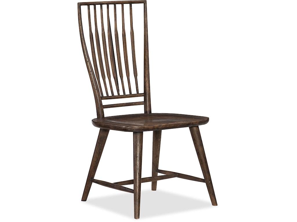 Hooker Furniture American Life - Roslyn CountySpindle Back Side Chair