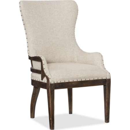 Deconstructed Upholstered Host Chair