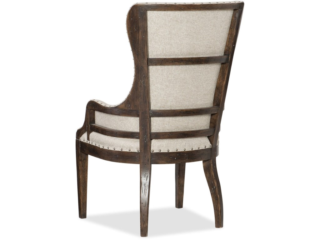 Hooker Furniture American Life - Roslyn CountyDeconstructed Upholstered Host Chair