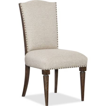 Deconstructed Upholstered Side Chair