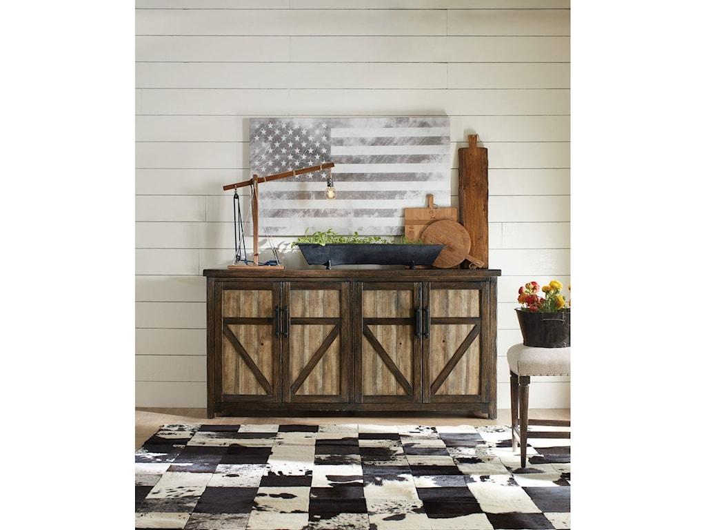 Hooker Furniture American Life - Roslyn County4 Door Buffet