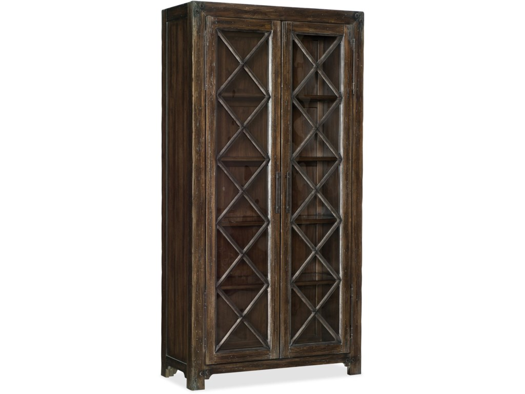 Hooker Furniture American Life - Roslyn CountyBunching Display Cabinet