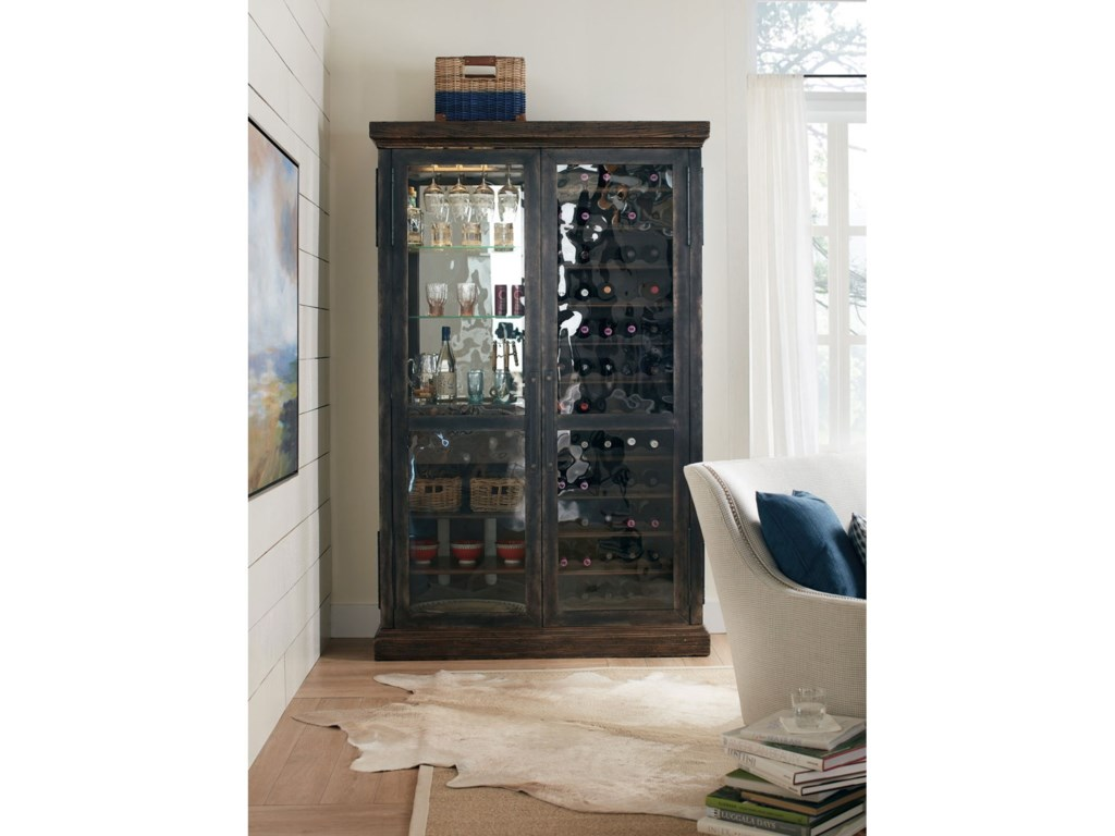 Hooker Furniture American Life - Roslyn CountyWine Cabinet