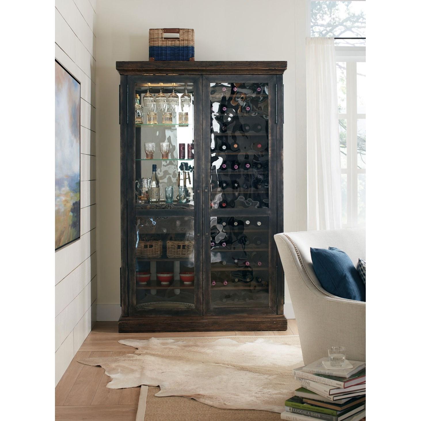 ... Hooker Furniture American Life   Roslyn CountyWine Cabinet ...