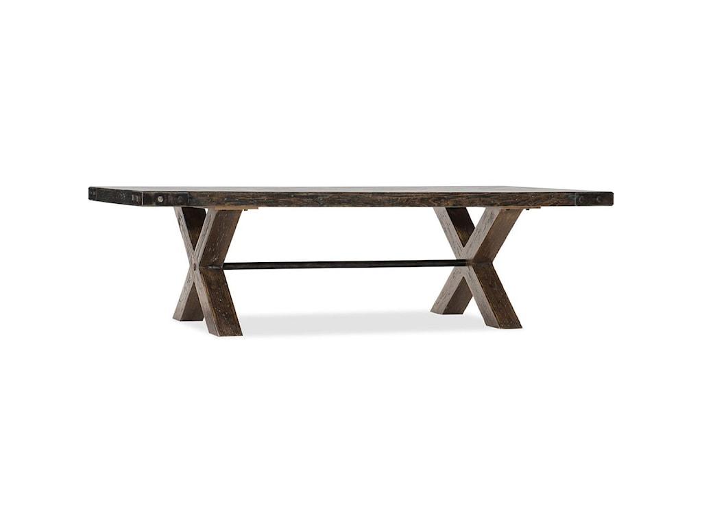 Hooker Furniture American Life - Roslyn CountyRectangular Cocktail Table