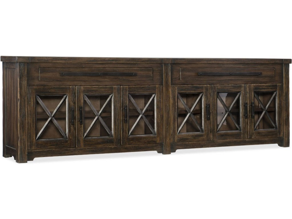 Hooker Furniture American Life - Roslyn County6 Door Credenza