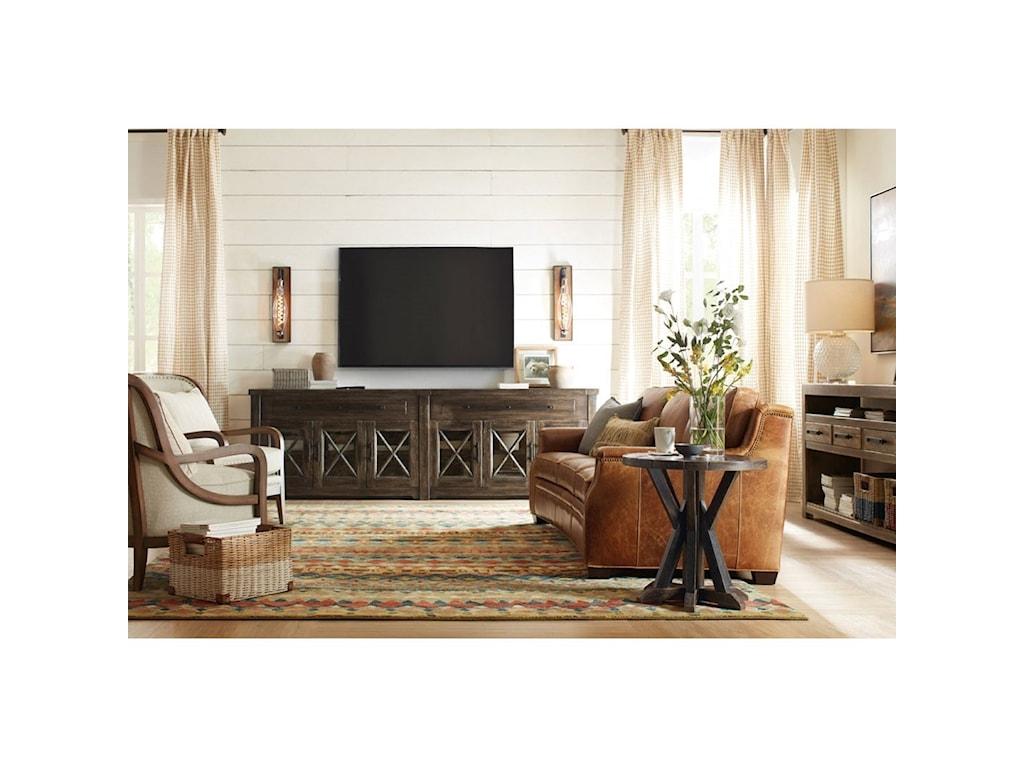 Hooker Furniture American Life - Roslyn County6 Door Credenza