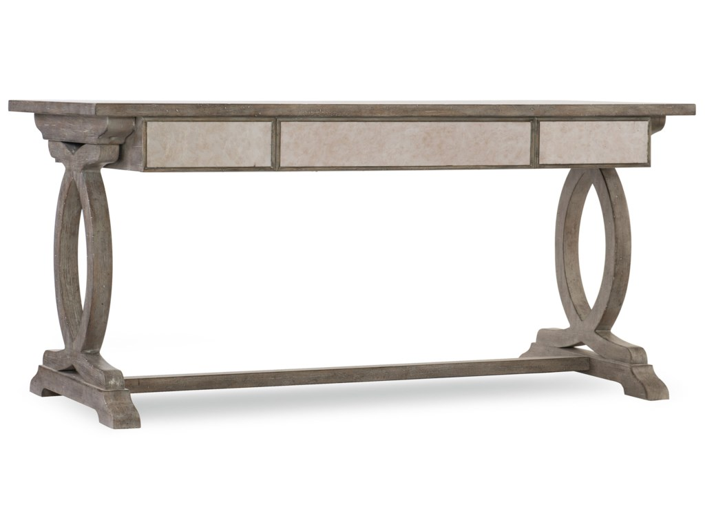 Hooker Furniture Rustic GlamRustic Glam Trestle Desk