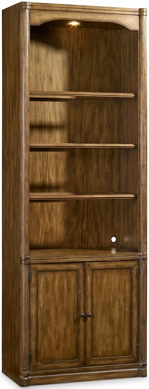 Hooker Furniture Saint Armand Wall Storage Cabinet with Touch Lighting