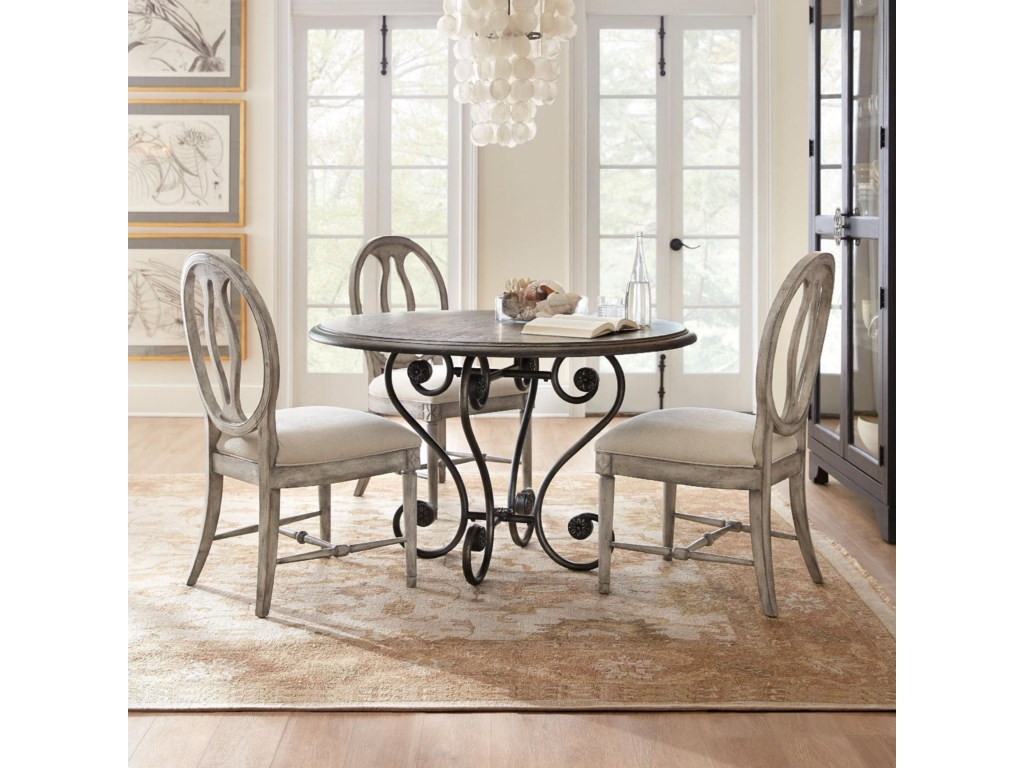 Hooker Furniture Sanctuary5 Piece Table and Chair Set