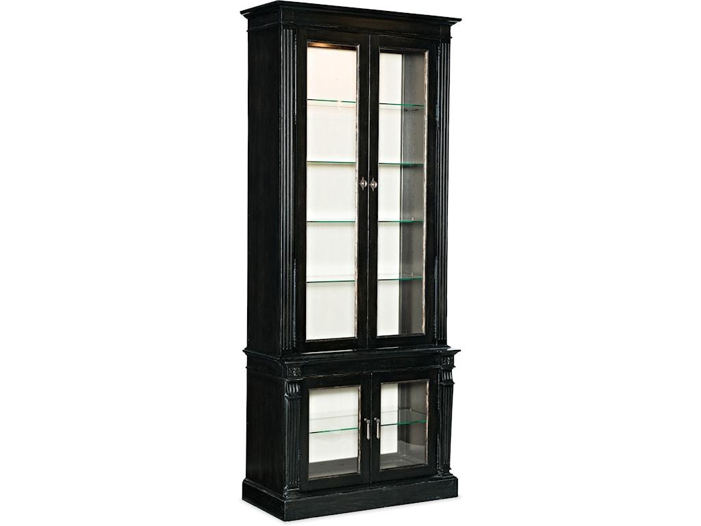 Hooker Furniture SanctuaryDisplay Cabinet Noir