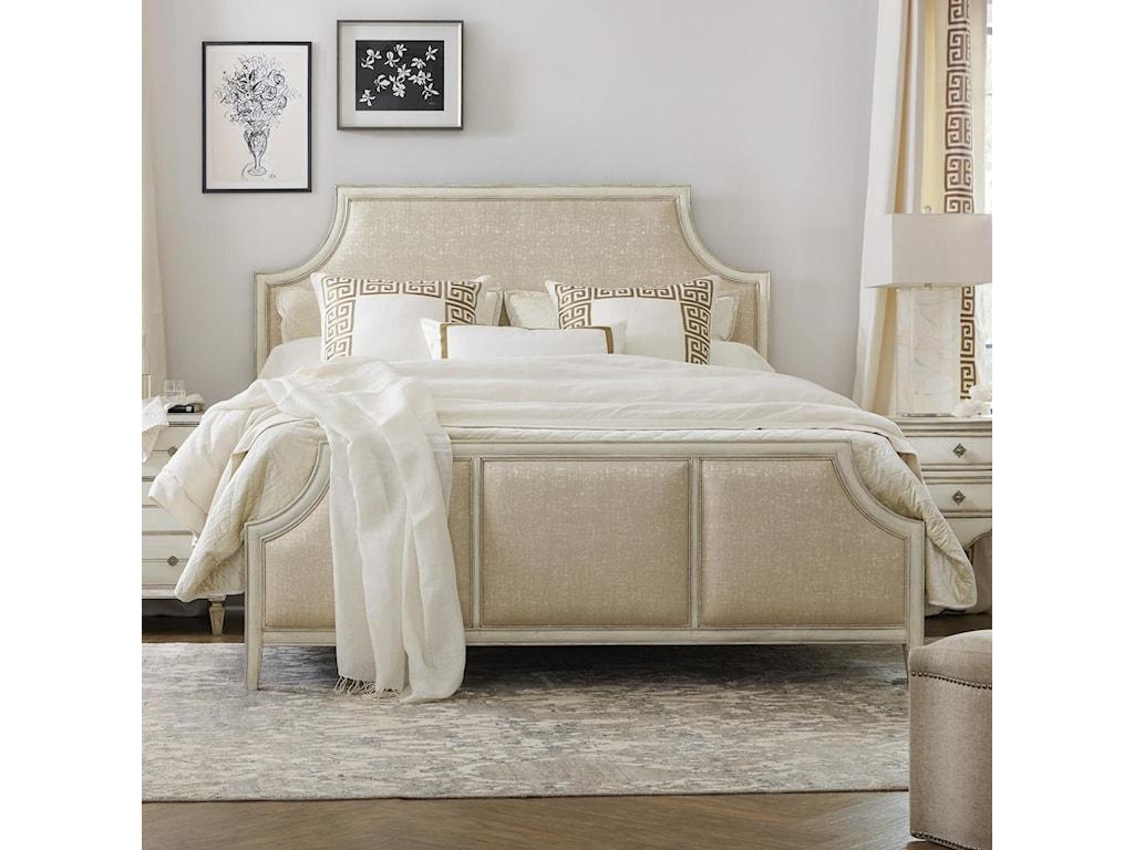 Hooker Furniture SanctuaryAnastasie Upholstered Queen Bed