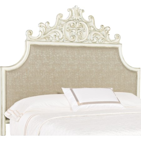 Anastasie Queen Upholstered Headboard