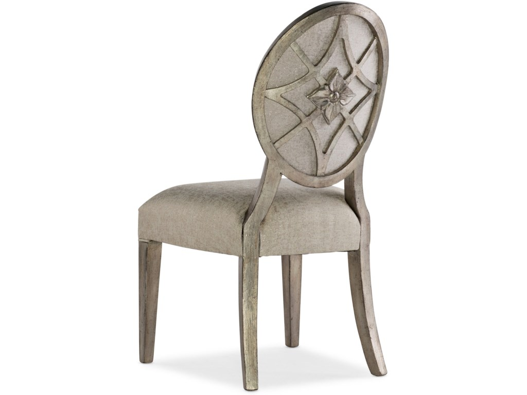 Hooker Furniture SanctuaryRomantique Oval Side Chair