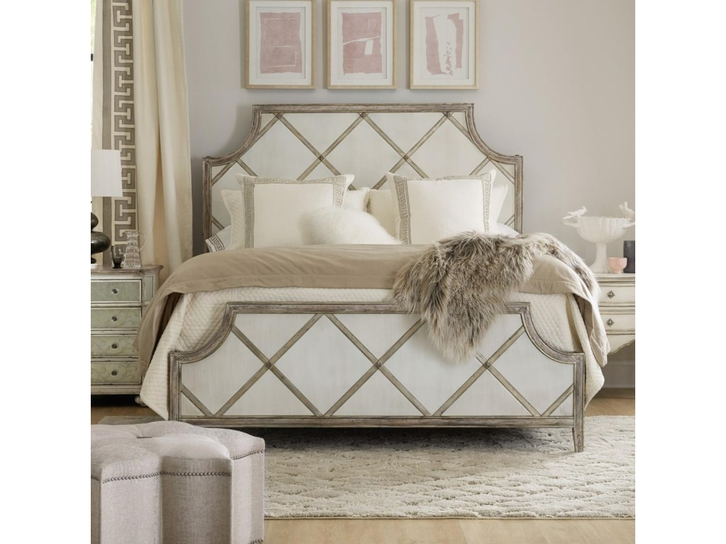 Hooker Furniture SanctuaryDiamont Queen Panel Bed