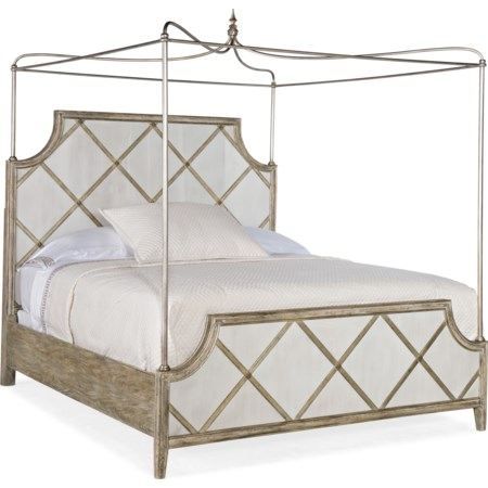 Diamont King Canopy Bed