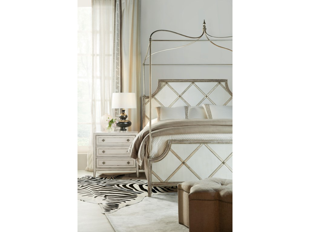 Hooker Furniture SanctuaryDiamont King Canopy Bed
