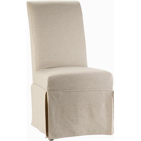 Clarice Skirted Chair