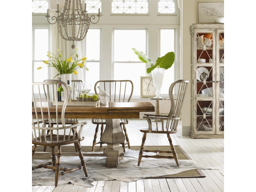 Shown with Table & Side Chairs