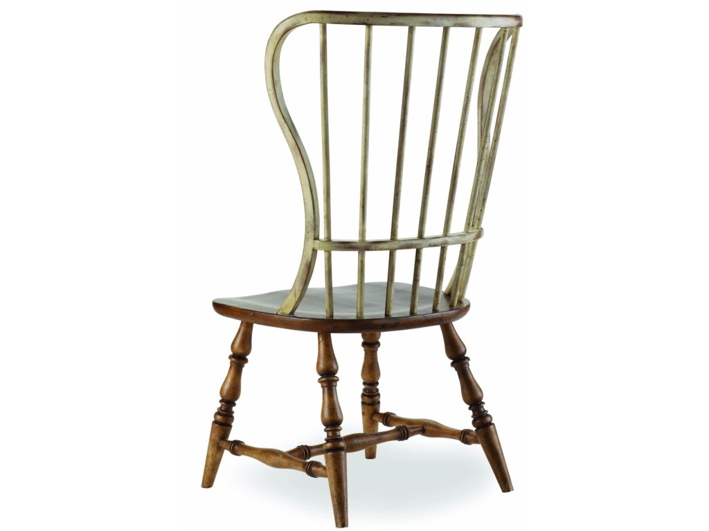 7b2986d614d85 Sanctuary Spindle Back Side Chair by Hooker Furniture at Stoney Creek  Furniture